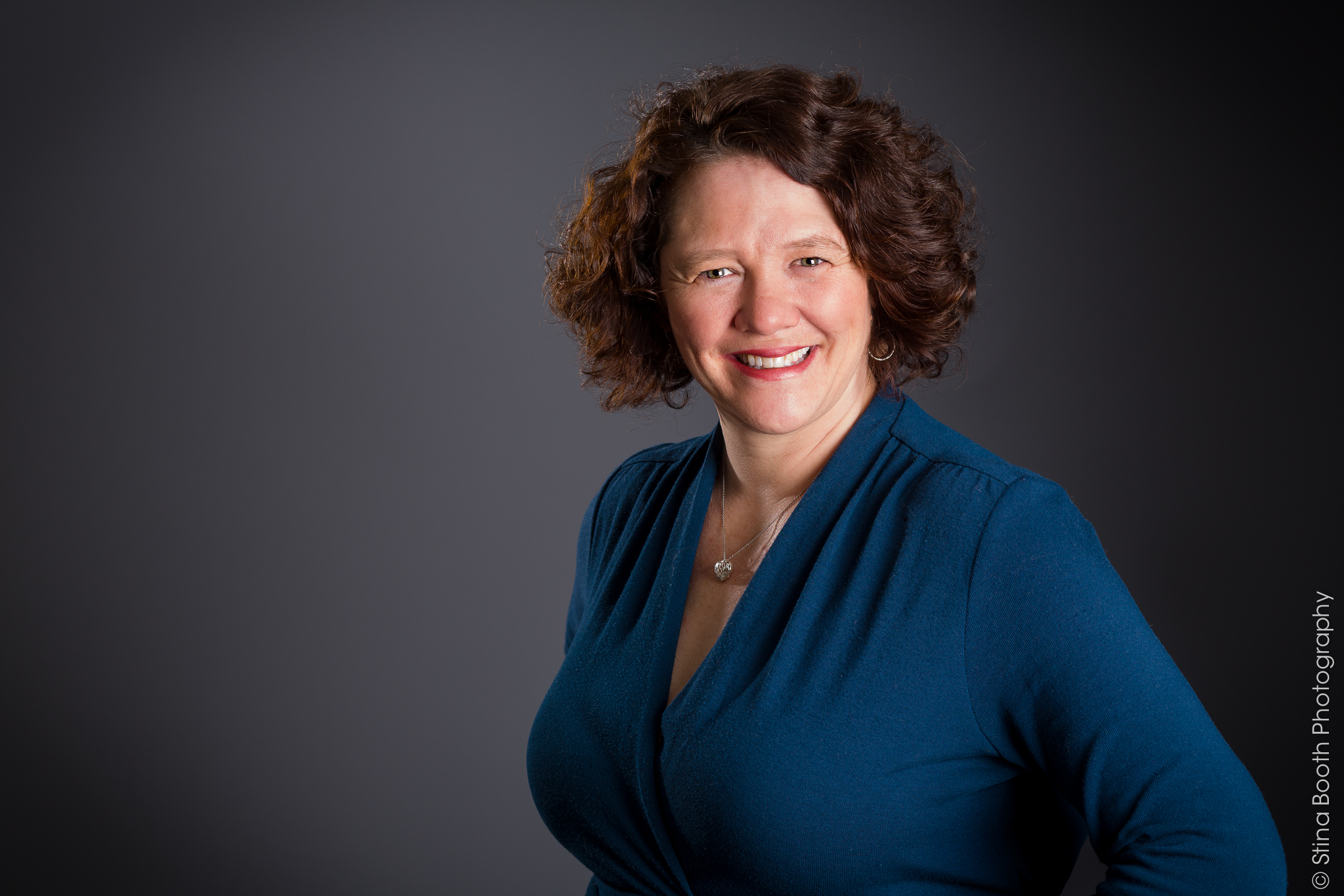 Professional headshot of Denise Smith by Vermont commercial photographer Stina Booth