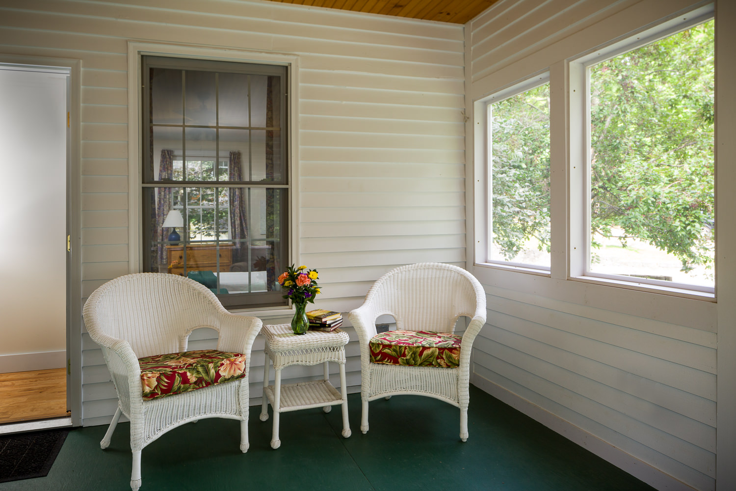 Marketing photo of the interior of a Tyler Place Resort cottage by Studio SB.